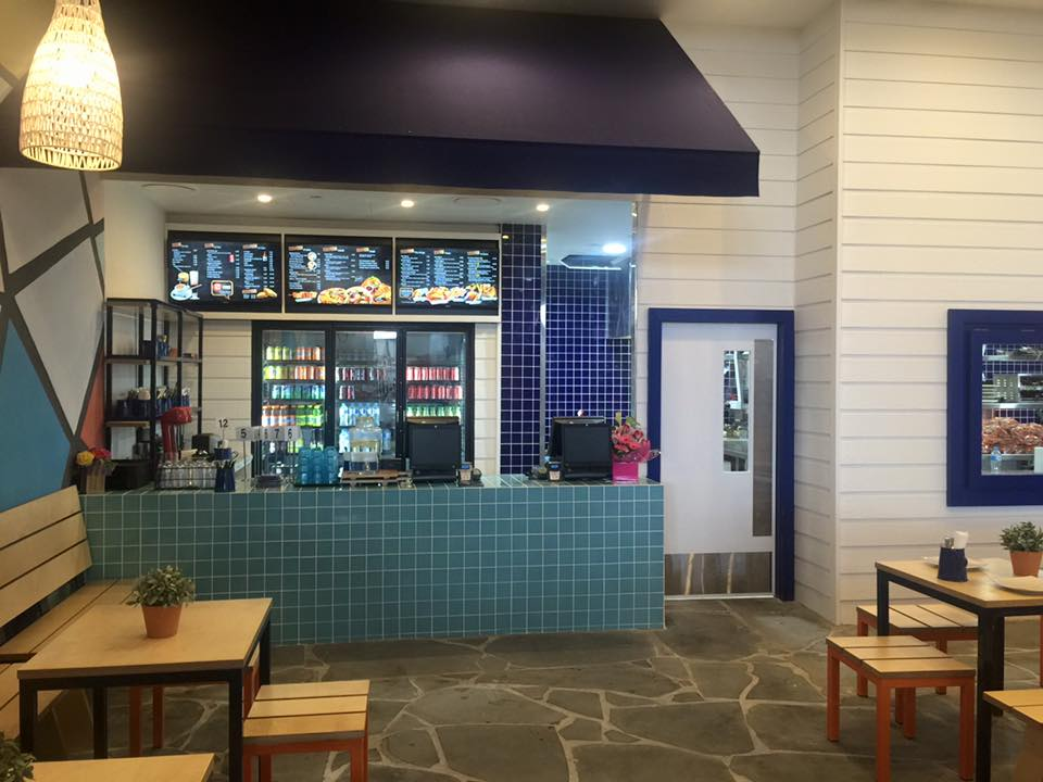 Greek Street Grill Broadbeach - Pacific Fair Gold Coast Counter - Gold Coast / Brisbane Shopfitting - By Open Projects
