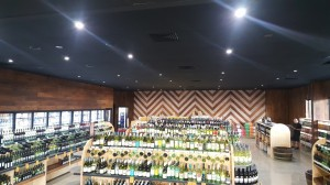Reef Gateway Cellarbrations Superstore Interior - By Open Projects - Gold Coast / Brisbane Shopfitting