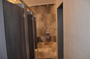 Aspley Leagues Club Bathroom Renovation Stalls - By Open Projects - Gold Coast / Brisbane Shopfitting