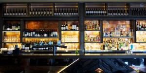 Bin 89 Broadbeach backbar - Gold Coast / Brisbane Shopfitting - By Open Projects