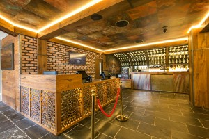 Blue Room Cinebar Counter - by Open Projects Group - Gold Coast Brisbane Shopfitting