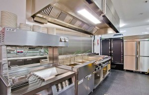 Burger Edge Brisbane Kitchen - Open Projects Group - Gold Coast / Brisbane Shopfitting