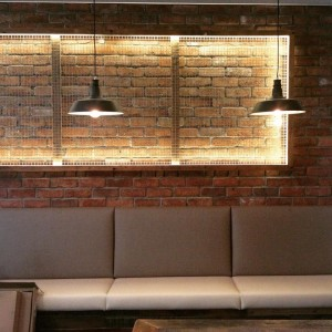 Cabukee Coffee Shop Emerald Lakes Custom Lighting - By Open Projects - Gold Coast / Brisbane Shopfitting