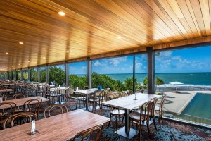 Caloundra Surf Life Saving Club Dining Area - By Open Projects - Gold Coast / Brisbane Shopfitting