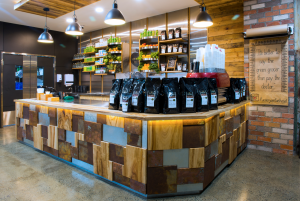 Flannery's Refuel Depot Counter - Robina - By Open Projects - Gold Coast / Brisbane Shopfitting