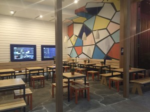 Greek Street Grill Broadbeach - Gold Coast / Brisbane Shopfitting - By Open Projects Group