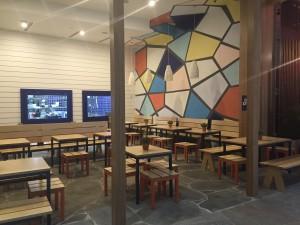 Greek Street Grill Broadbeach - Gold Coast / Brisbane Shopfitting - By Open Projects Group