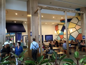 Greek Street Grill Broadbeach - Pacific Fair Gold Coast Exterior - Gold Coast / Brisbane Shopfitting - By Open Projects