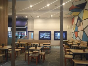 Greek Street Grill Broadbeach - Pacific Fair  - Gold Coast / Brisbane Shopfitting - By Open Projects