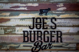 Joe's Burger Bar Counter Cladding Hope Island - By Open Projects - Gold Coast / Brisbane Shopfitting