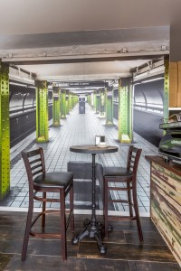Joe's Burger Bar Hope Island Feature Wall - By Open Projects - Gold Coast / Brisbane Shopfitting
