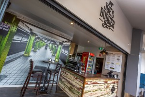 Joe's Burger Bar Interior Hope Island - By Open Projects - Gold Coast / Brisbane Shopfitters