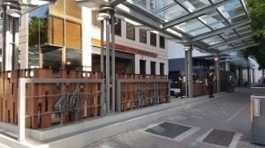 Mr Edward's Alehouse Fencing - By Open Projects Group - Gold Coast / Brisbane Shopfitters