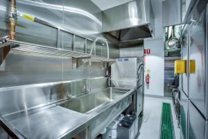Open Projects Group, Ramen Danbo - Gold Coast & Brisbane Fit out & Design- Custom Stainless Steel Work