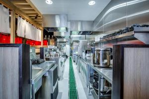 Open Projects Group, Ramen Danbo - Gold Coast & Brisbane Shop Fitting - Stainless Steel Commercial Kitchen