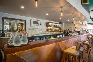 Open Projects Group - Cribb Street Social - Shop Fitting, Fitout, Design, Concept, Bar, Restaurant, Cafe, Joinery, Stainless Steel, Brisbane, Milton-1