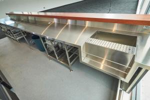 Open Projects Group - Mackay Showgrounds, Shopfitting - Fitout & Design, Stainless steel & Joinery-56