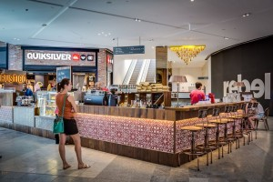 Rustico Cafe Pacific Fair Counter - Open Projects Group Gold Coast Brisbane Shopfitting