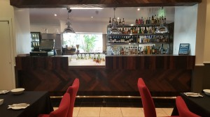 The Clarion Hotel Bar Front - By Open Projects - Gold Coast / Brisbane Shopfitting
