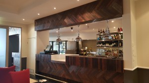 The Clarion Hotel Bar Front 2 - By Open Projects - Gold Coast / Brisbane Shopfitting